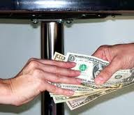 money under the table NJ lawyer for bribe charges in New Jersey or federal court